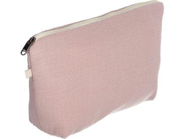 Kave Home - Trousse de toilette Breisa 100% coton bio (GOTS) rose