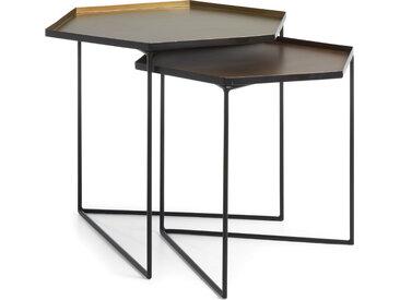 Kave Home - Set Vinker C de 2 tables gigogne