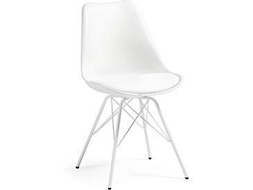 Kave Home - Chaise Ralf blanc