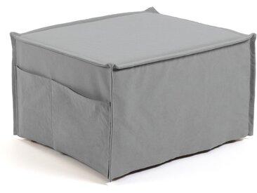 Kave Home - Chauffeuse Lizzie 70 x 60 (180) cm gris