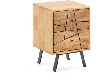 Kave Home - Table de chevet Balia 40 x 56 cm