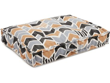 Coussin de sol Biscayne moutarde