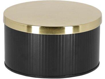 Kave Home - Boîte Quelia noir grand format
