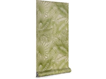 Kave Home - Papier peint Tropic vert 10 x 0,53 m