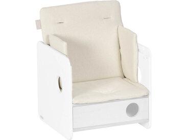 Kave Home - Coussin de chaise haute Nuun 100% coton bio (GOTS) finition naturelle