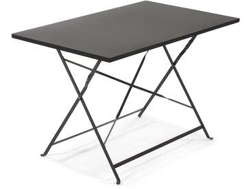 Table rectangulaire Alrick graphite
