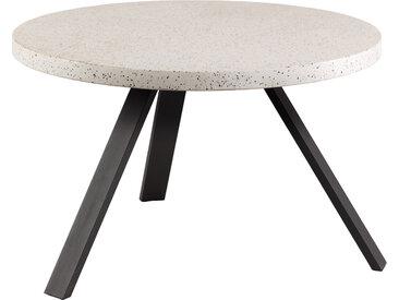 Kave Home - Table Shanelle Ø 120 cm blanc