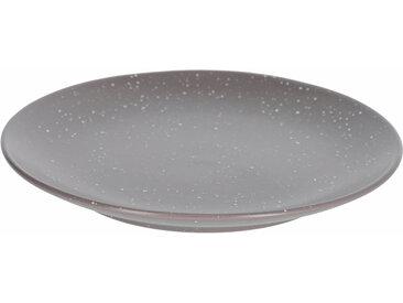 Kave Home - Assiette à dessert Aratani gris foncé