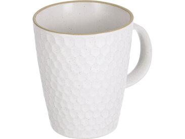 Kave Home - Tasse Manami en céramique blanc