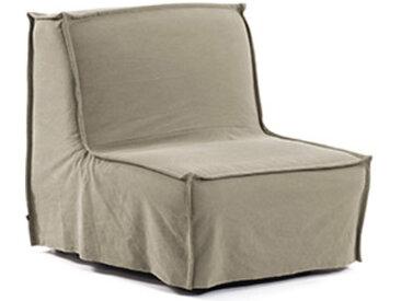 Kave Home - Chauffeuse Lyanna 90 cm beige