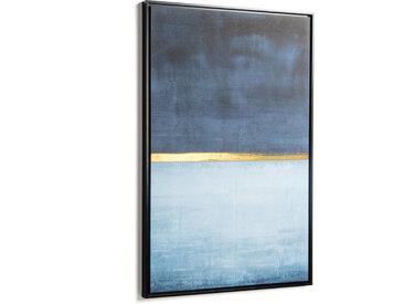 Kave Home - Tableau Wrigley 60 x 90 cm bleu