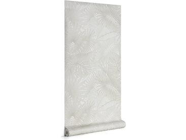 Kave Home - Papier peint Tropic gris 10 x 0,53 m