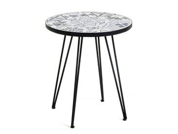 Table Oswalda gris