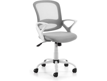 Kave Home - Chaise de bureau Tangier gris