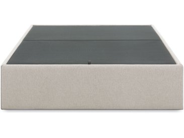 Kave Home - Sommier coffre Matter 180x200 cm beige
