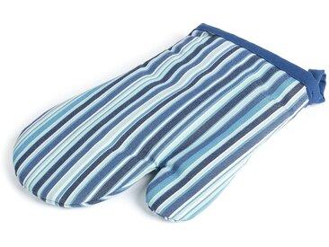 Gant de cuisine Shire bleu à rayures