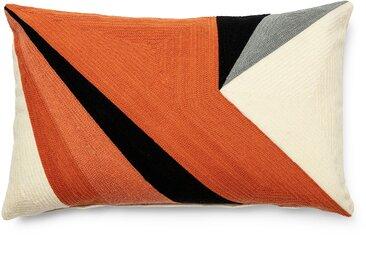 Housse de coussin Sinna 30 x 50 cm orange
