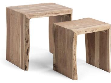 Kave Home - Set Zuleika de 2 tables gigogne