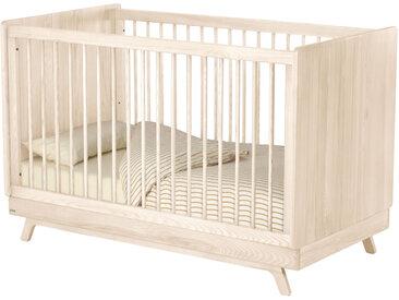 Kave Home - Lit bébé évolutif Maralis en bois de frêne 70 x 140 cm