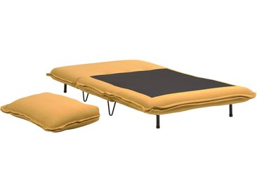 Kave Home - Chauffeuse convertible Miski 105 cm moutarde