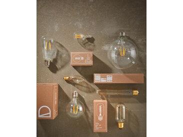 Kave Home - Ampoule LED Bulb E27 de 4W et 60 mm lumière chaude