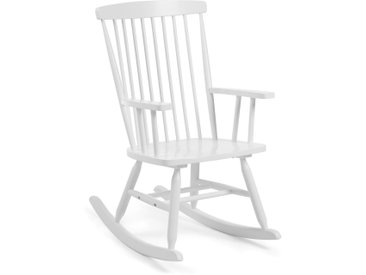 Chaise à bascule Tenzo blanc
