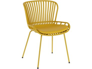Kave Home - Chaise Surpik moutarde