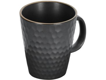 Kave Home - Tasse Manami en céramique noir