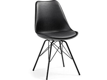 Kave Home - Chaise Ralf noir