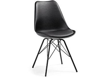 Chaise Ralf noir
