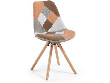 Chaise Ralf patchwork orange