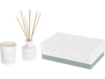 Kave Home - Set White Soul bougie et bouquet parfumés