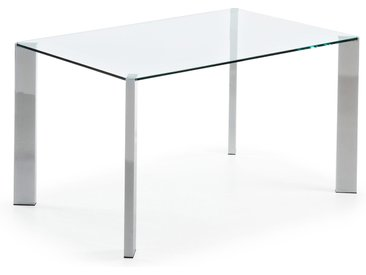 Kave Home - Table Spot 140 x 90 cm argent