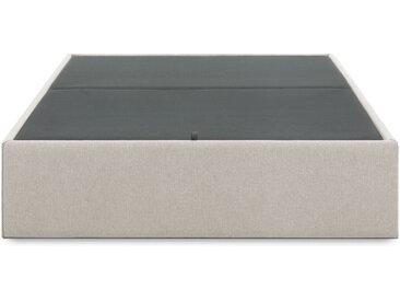 Kave Home - Sommier coffre Matters 150 x 190 cm beige