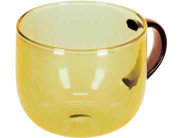 Kave Home - Tasse à café Alahi jaune