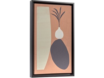 Kave Home - Tableau Bianey 50 x 30 cm saumon