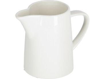 Kave Home - Pot à lait Pierina porcelaine blanc