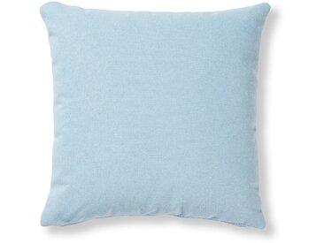 Kave Home - Housse de coussin Kam 45x45 cm bleu clair