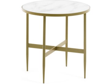 Kave Home - Table d'appoint Elisenda Ø 50 cm