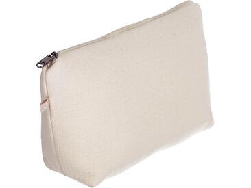 Kave Home - Trousse de toilette Breisa 100% coton (GOTS) beige