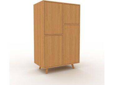 Buffet - Chêne, pièce modulable, enfilade, avec porte Chêne - 79 x 130 x 47 cm