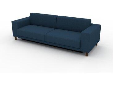 Canapé convertible - Bleu Océan, design épuré, canapé lit confortable, confortable avec coffre de rangement - 248 x 75 x 98 cm, modulable