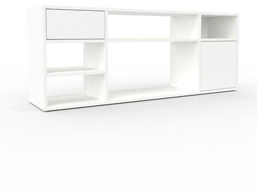 Enfilade - Blanc, design, buffet, avec porte Blanc et tiroir Blanc - 154 x 61 x 35 cm