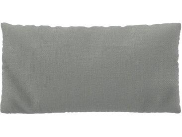Coussin Gris Clair - 40x80 cm - Housse en Tissu grossier. Coussin de canapé moelleux