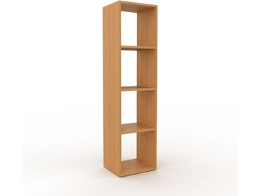 Bibliothèque - Chêne, design, étagère pour livres, sophistiquée, ouverte et fonctionelle - 41 x 157 x 35 cm, personnalisable