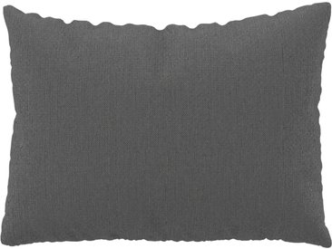 Coussin Gris Taupe - 48x65 cm - Housse en Tissu grossier. Coussin de canapé moelleux