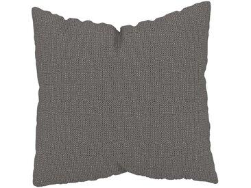 Coussin Gris Taupe - 50x50 cm - Housse en Tissu grossier. Coussin de canapé moelleux