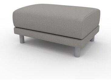 Pouf - Grège, design épuré, 80 x 42 x 60 cm, modulable