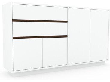 Enfilade - Blanc, design, buffet, avec porte Blanc et tiroir Blanc - 152 x 85 x 35 cm