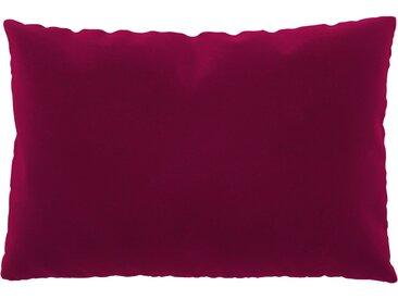 Coussin Rose Magenta - 40x60 cm - Housse en Velours. Coussin de canapé moelleux